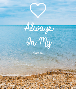 Poster: Always  In My Heart