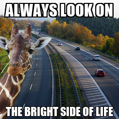 Poster: ALWAYS LOOK ON THE BRIGHT SIDE OF LIFE