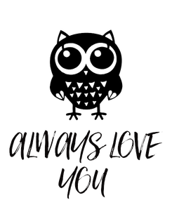 Poster: ALWAYS LOVE YOU
