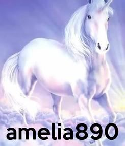 Poster:     amelia890