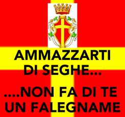Poster: AMMAZZARTI DI SEGHE...  ....NON FA DI TE  UN FALEGNAME