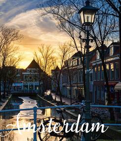 Poster: Amsterdam