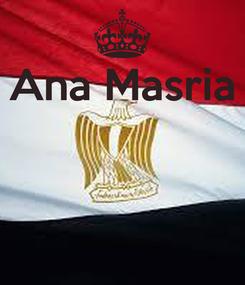 Poster: Ana Masria