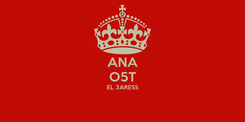 Poster: ANA O5T EL 3ARESS