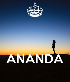 Poster:      ANANDA