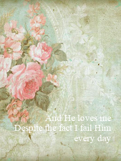 Poster: And He loves me