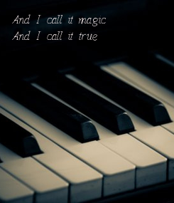 Poster: And I call it magic