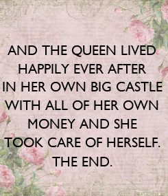 Poster: AND THE QUEEN LIVED
