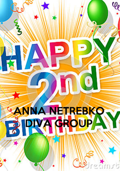 Poster:    ANNA NETREBKO  DIVA GROUP