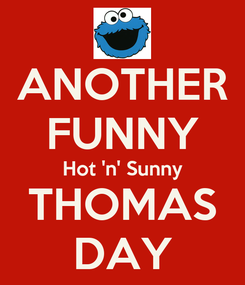 Poster: ANOTHER FUNNY Hot 'n' Sunny THOMAS DAY