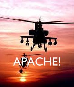 Poster:    APACHE!
