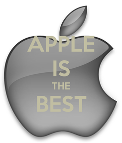 Poster: APPLE IS THE BEST