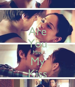 Poster: Are You Miss My Kiss