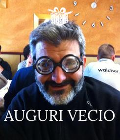 Poster:     AUGURI VECIO