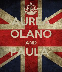 Poster: AUREA OLANO AND PAULA