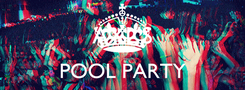 Poster:  AXL'S POOL PARTY