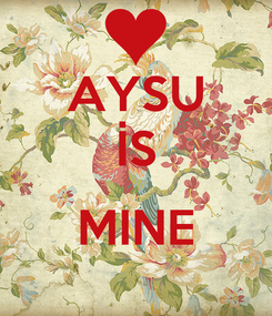 Poster: AYSU İS  MINE