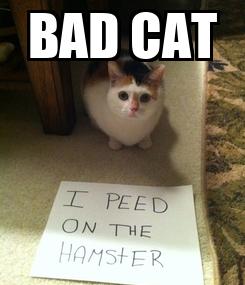 Poster: BAD CAT