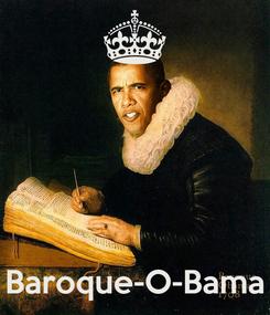 Poster:     Baroque-O-Bama