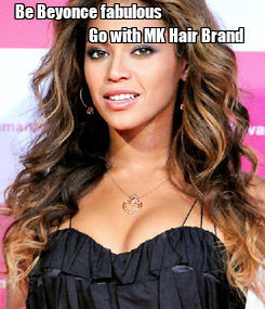 Poster: Be Beyonce fabulous