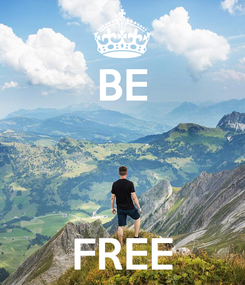 Poster: BE    FREE