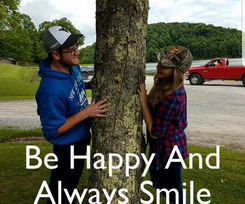 Poster:    Be Happy And Always Smile