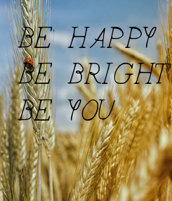 Poster: BE HAPPY