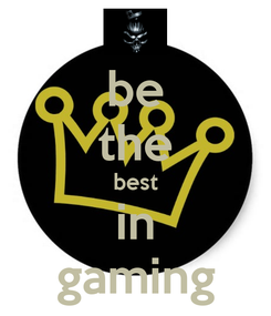 Poster: be the best in gaming