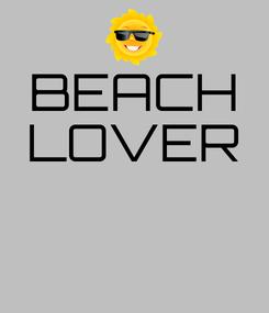 Poster: BEACH LOVER