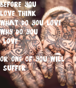 Poster: before you 