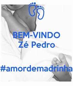 Poster: BEM-VINDO Zé Pedro   #amordemadrinha