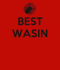 Poster: BEST WASIN