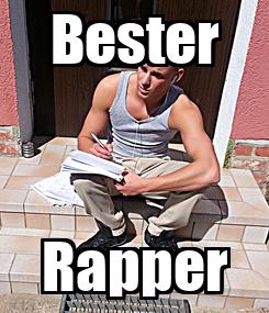 Poster: Bester Rapper