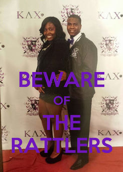 Poster:  BEWARE OF THE RATTLERS