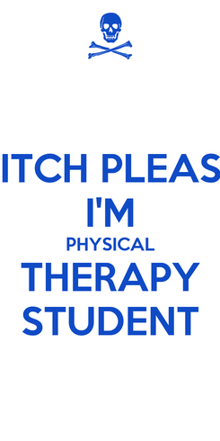 Poster: BITCH PLEASE I'M PHYSICAL THERAPY STUDENT