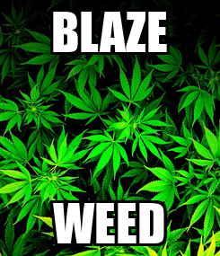 Poster: BLAZE WEED