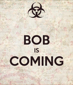 Poster:  BOB IS COMING