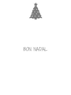 Poster:  BON NADAL