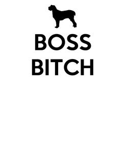 Poster: BOSS BITCH