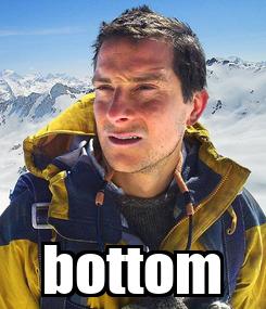 Poster:  bottom