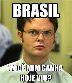 Poster: BRASIL VOCÊ MIM GANHA HOJE VIU?