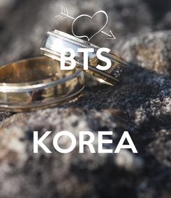 Poster: BTS   KOREA
