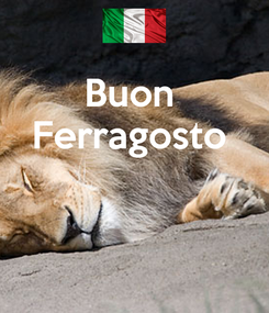 Poster: Buon  Ferragosto