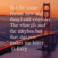 Poster: But for some 