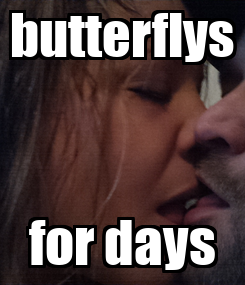 Poster: butterflys for days