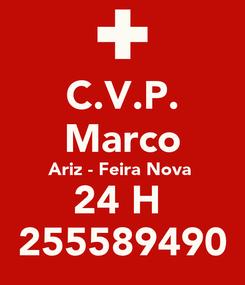 Poster: C.V.P.  Marco  Ariz - Feira Nova  24 H  255589490