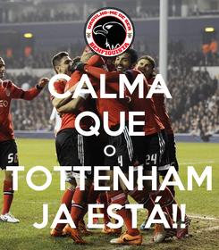Poster: CALMA QUE O TOTTENHAM JA ESTÁ!!