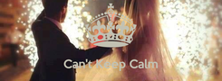 Poster:   Can't Keep Calm It's Kotity & koti 's Engagement