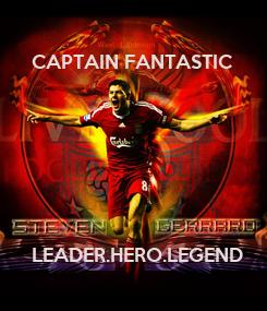 Poster: CAPTAIN FANTASTIC         LEADER.HERO.LEGEND