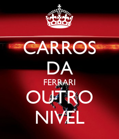 Poster: CARROS DA FERRARI OUTRO NIVEL